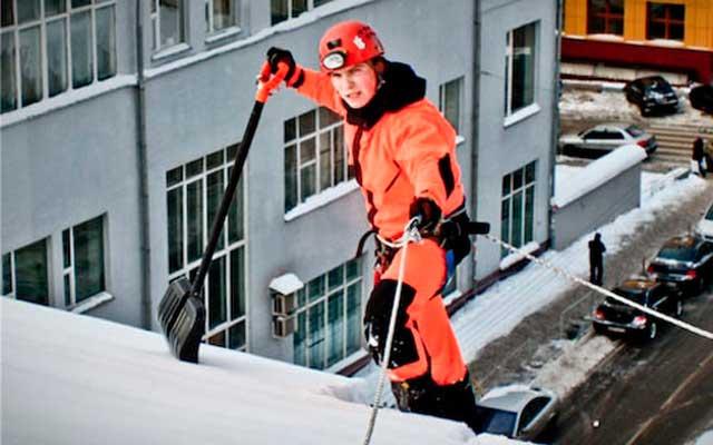 Уборка снега с крыш Иваново